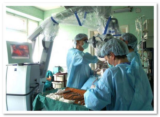Операция по удалению грыжи на спине