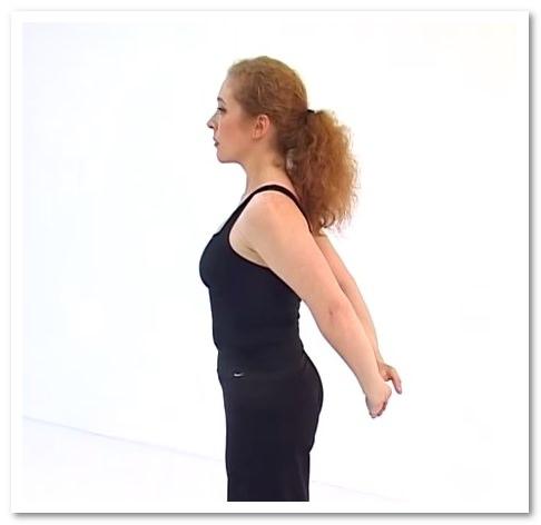 упражнения от грудного остеохондроза