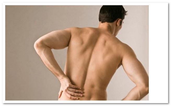 Боль в левом боку спины - причины, лечение
