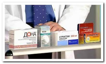 хондропротекторы в медикаментозном лечении