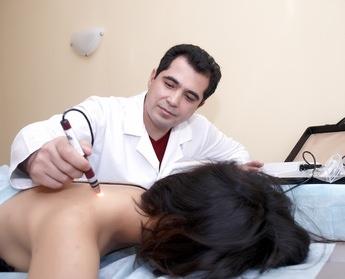 Лечение током при остеохондрозе