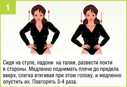 Изометрические упражнения для плечевого сустава