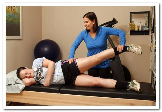 комплекс лфк при коленном артрозе