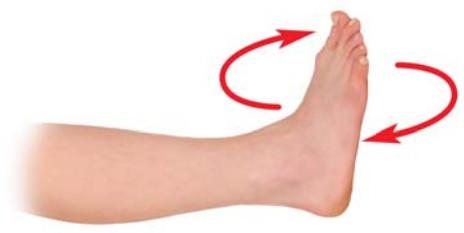 лфк для голеностопного сустава