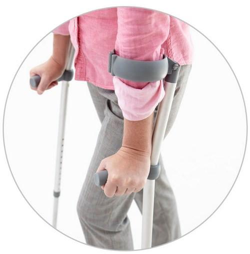 ходьба на костылях после замены коленного сустава