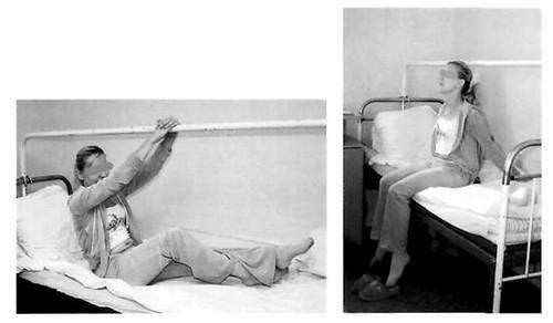 как правильно садиться после замены сустава