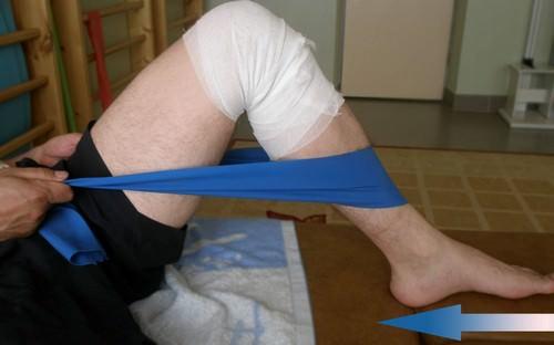 реабилитация коленного сустава после эндопротезирования дома