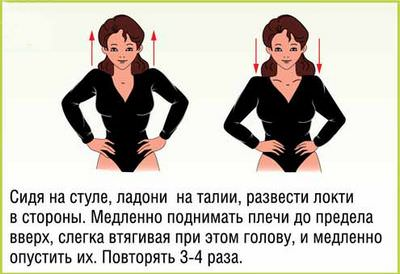 Комплекс упражнений при артрите