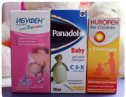 ибупрофен и парацетомол для детей при гриппе