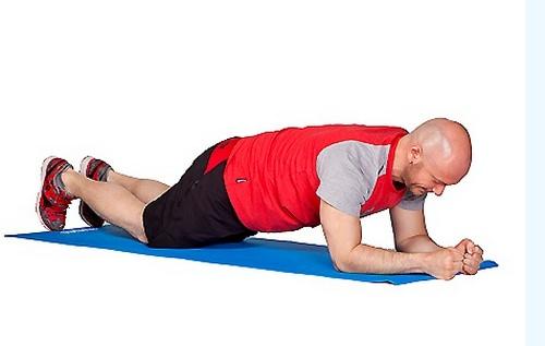 подготовка упражнения планка