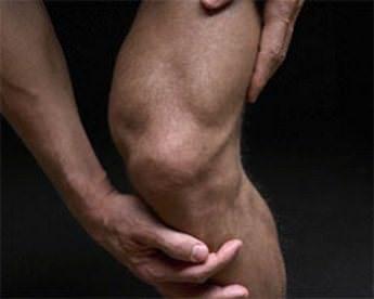 Суставная сумка колена боль