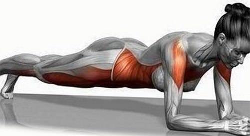 планка укрепляет мышцы