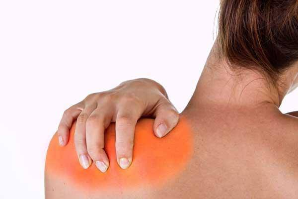 Резкая боль в плечевом суставе при отведении руки назад