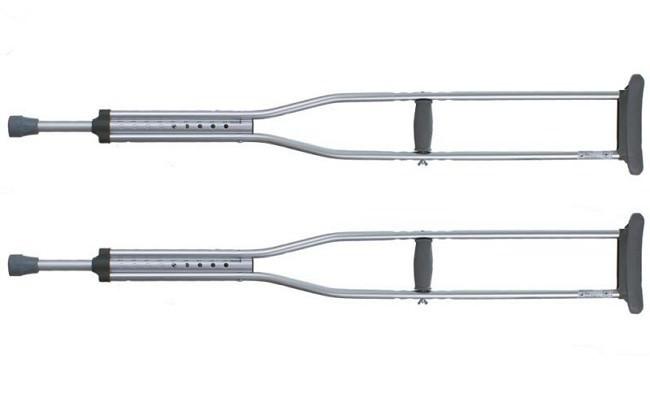 Как выбрать подлокотные и подмышечные костыли